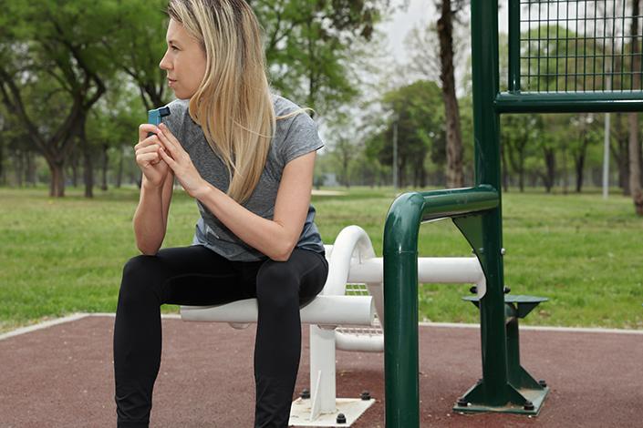 Illustration - L'asthme, une maladie oppressante