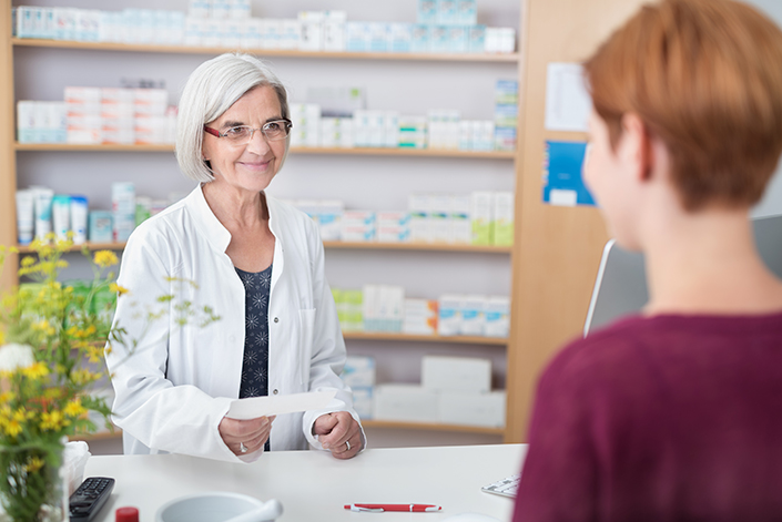 Illustration - Les pharmaciens, vos partenaires da