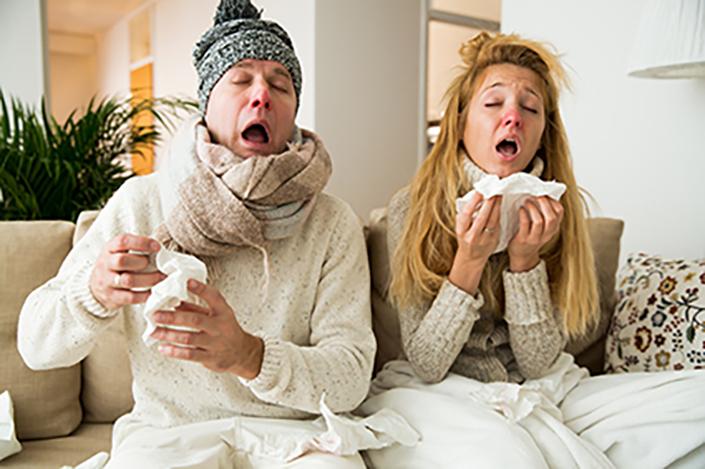 Illustration Comment soigner son rhume ?