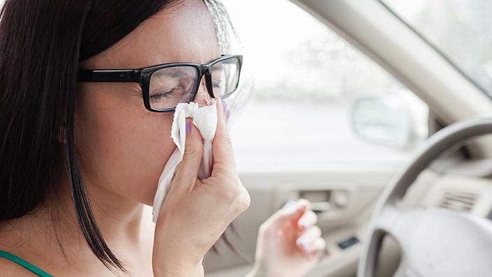 Allergies : avez-vous pensé à votre voiture ?