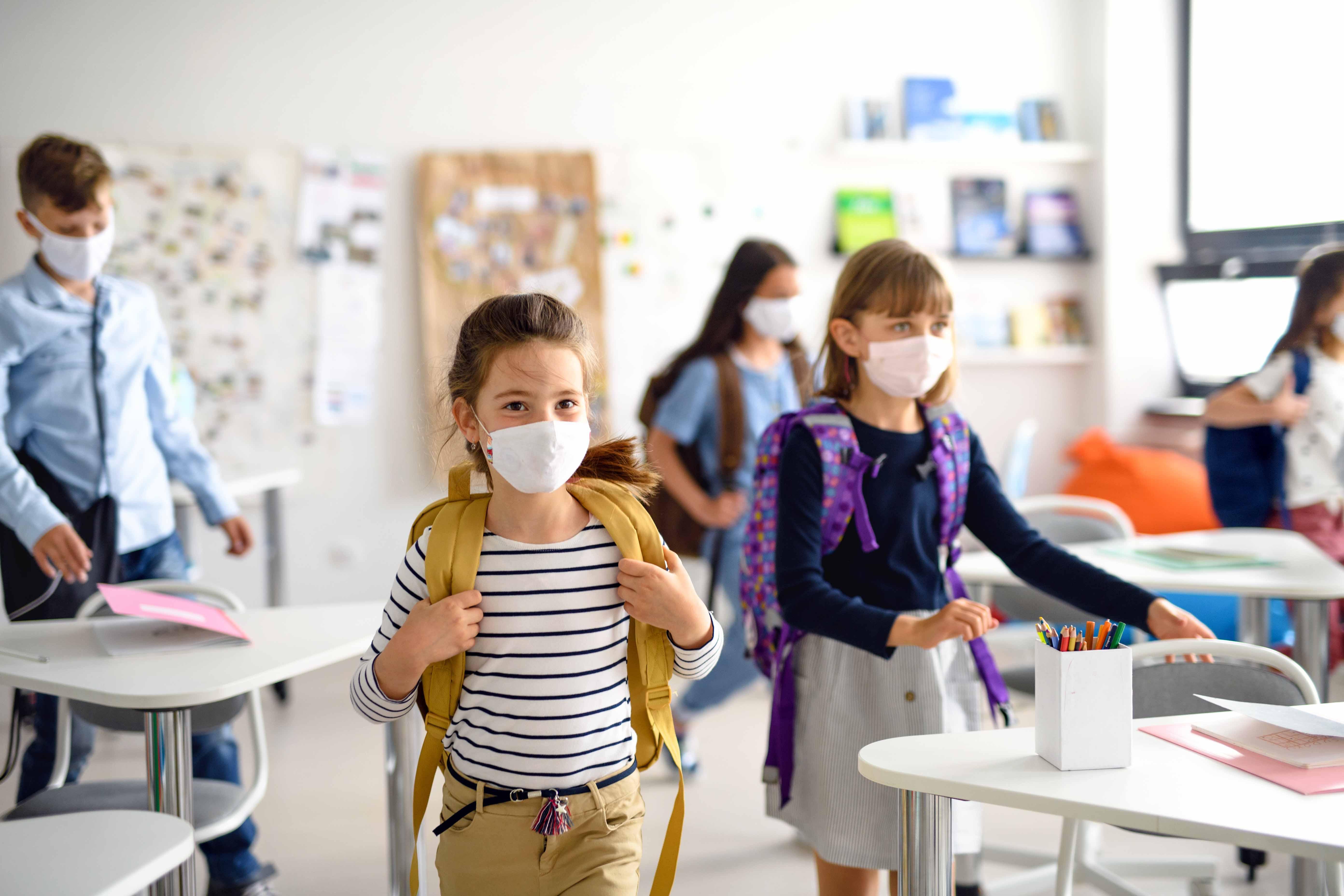 Masques : les enfants aussi